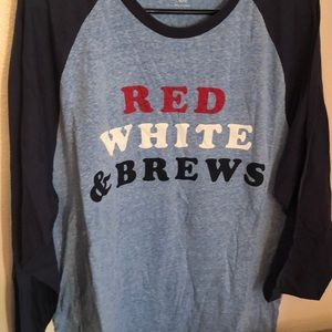 Fourth of July Old Navy three-quarter sleeve